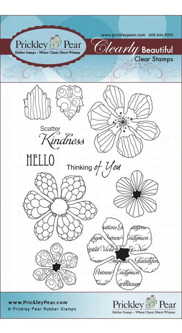 Hibiscus 2 - Clear Stamp Set