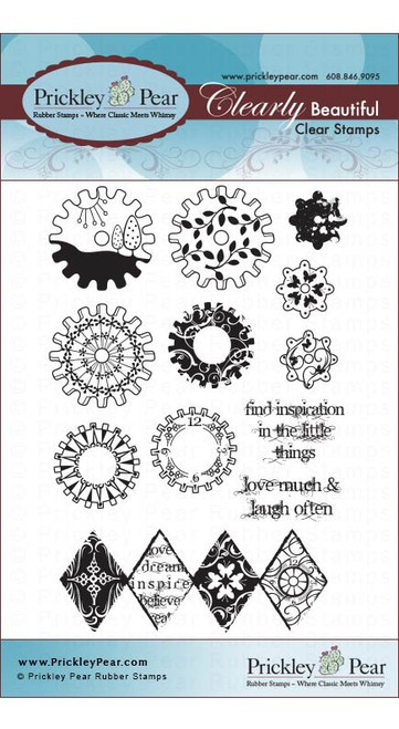 Gears 2 - Clear Stamp Set CLR025A