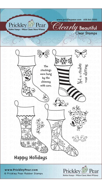 Stocking - Clear Stamp Set