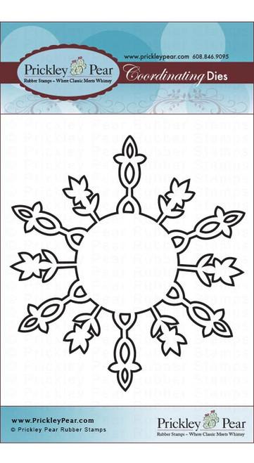 Snowflake Pendant - Die Set