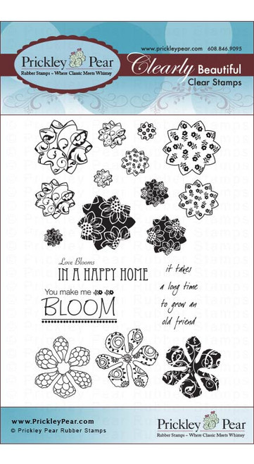 Sunflowers & Mini Hibiscus - Clear Stamp Set CLRL028