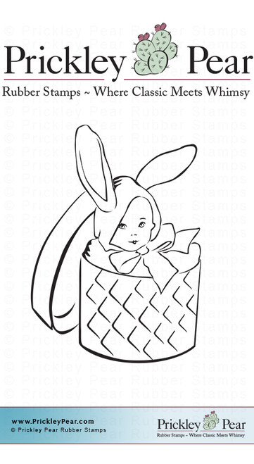 Honeybunny - Red Rubber Stamp