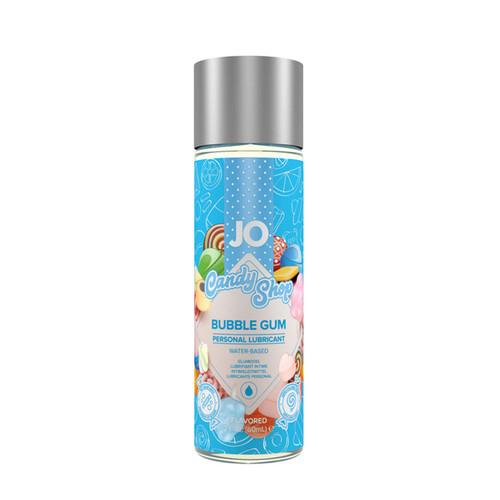 JO-10632 H20 CANDY SHOP BUBBLE GUM LUBE-2OZ
