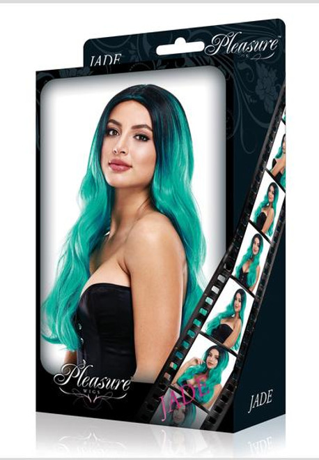 LAPD-PW-8052 JADE WIG -GREEN