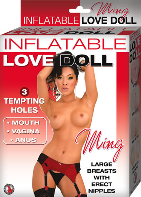 NW2622 INFLATABLE LOVE DOLL MING -FLESH