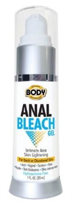 BA-ABG10 BODY ACTION ANAL BLEACH GEL -1OZ