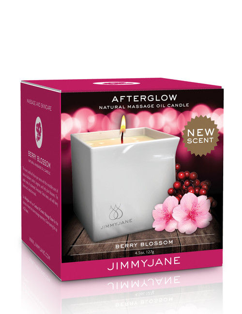 PD11739 AFTERGLOW MASSAGE CANDLE -BERRY BLOSSOM
