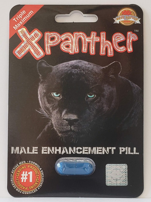 X PANTHER -BLK 30CT