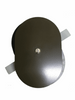 """Hand Hole Cover - 4""""x6"""" - Oval - Steel"""