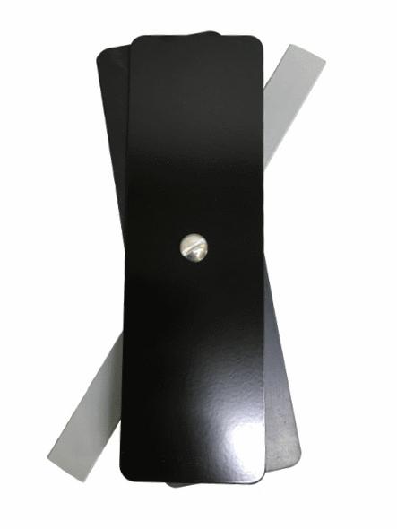 "Hand Hole Cover - 2.25""x7.25"" - Flat Rectangular - Steel"