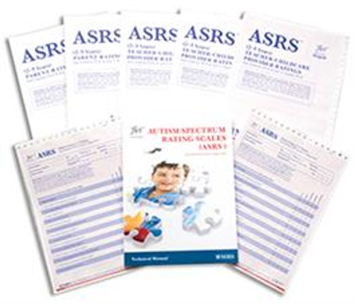 Autism Spectrum Rating Scale (ASRS) ASRS-T (2-5) QuikScore Forms with DSM-5 Update