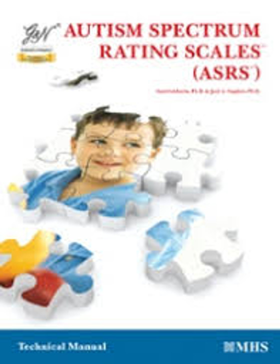 Autism Spectrum Rating Scale (ASRS) Manual