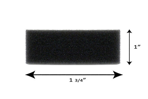 Reusable Black Foam Filters for M Series, PR System One, 60 Series and SleepEasy Series