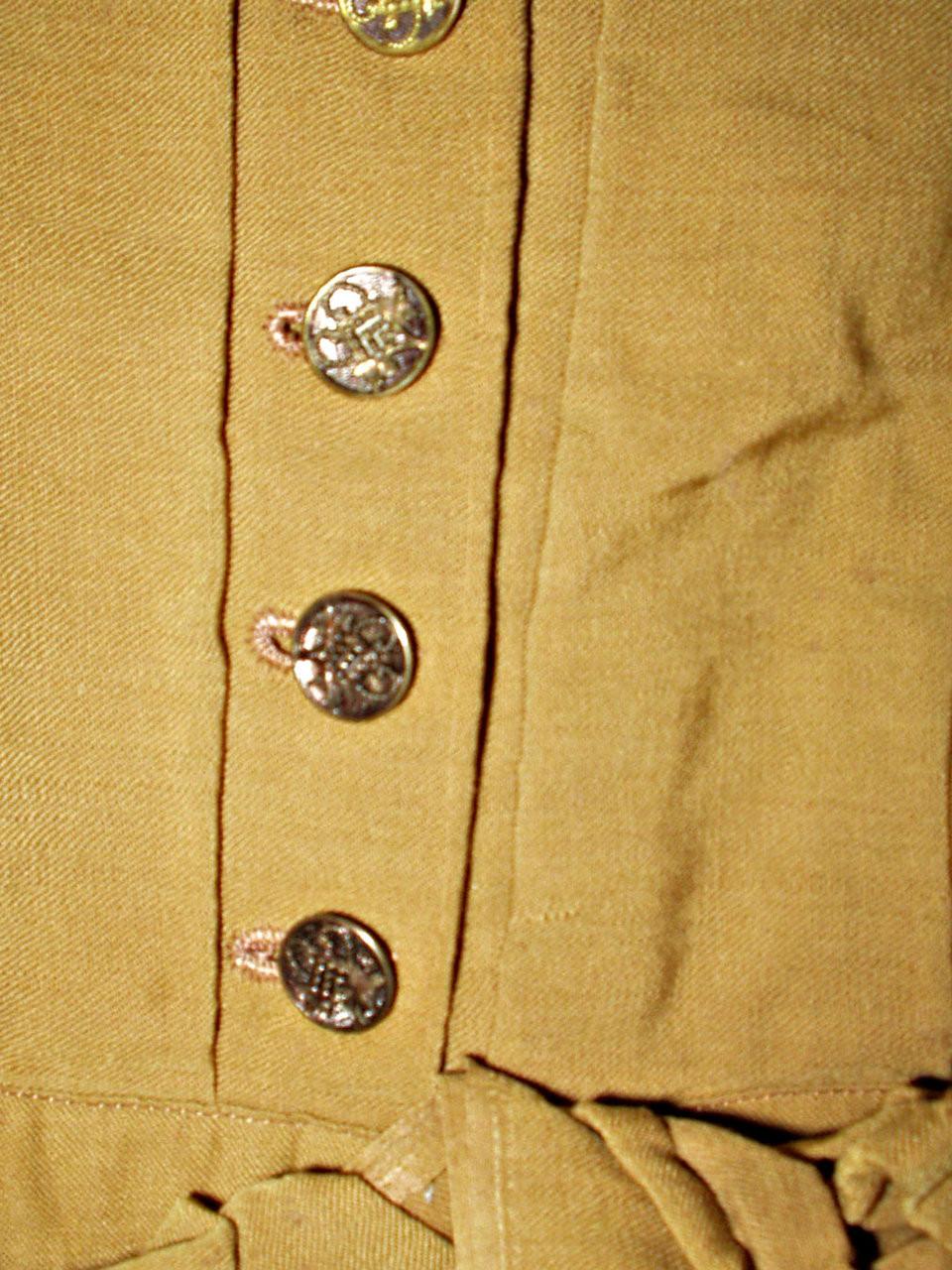Children Victorian 1880s 1890s Cotton Hand Embroidery Dress