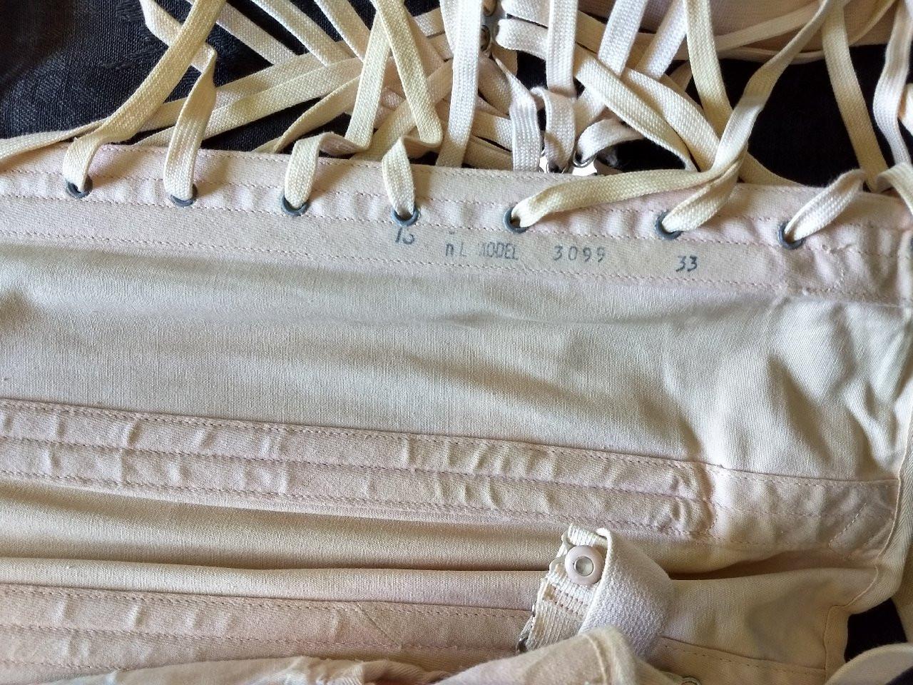 Vintage 1940 Camp Corset Under Garment Unworn Tag Box Label