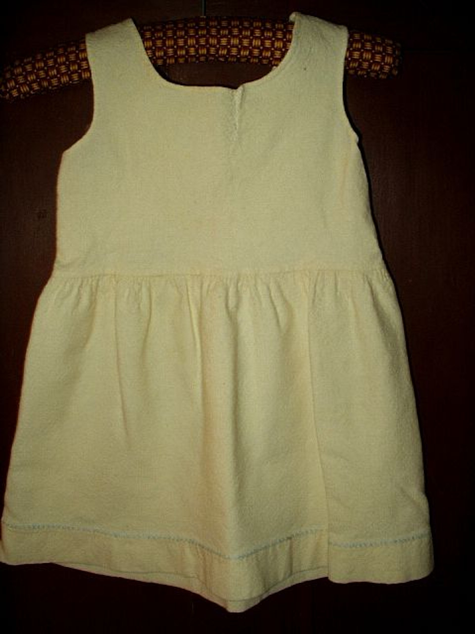 Antique Early 1900 Victorian Edwardian Child Toddler Wool Petticoat