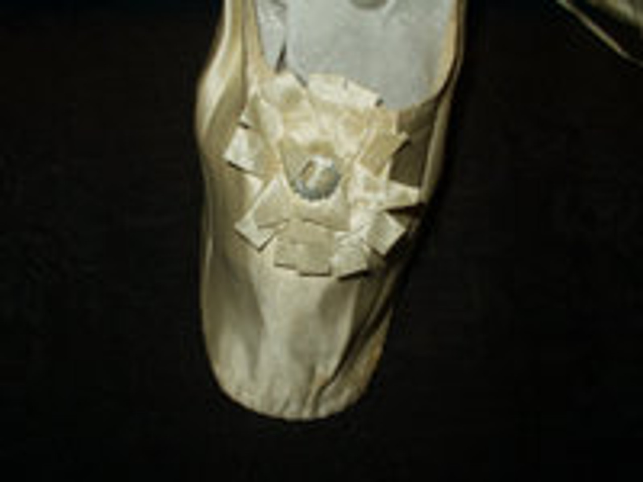 Beautiful Shoes For A Beautiful Occasion  ~ For The 1840 to 1860 Woman