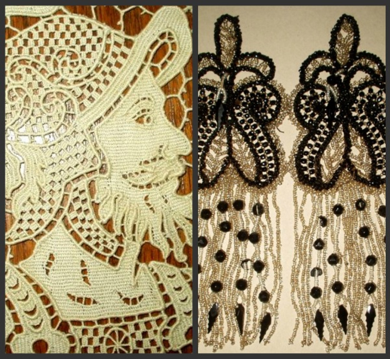 Victorian Laces, Embellishments, Trims And Add Ons