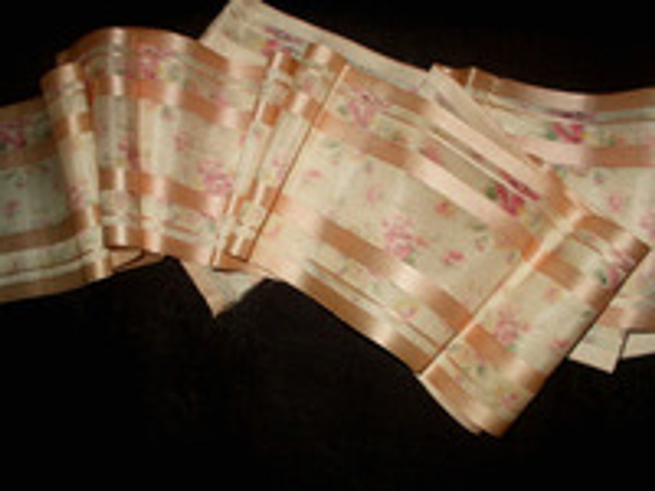 Silks, Satin, Printed Ribbons ~ A Collection From The Victorian 1920's Era