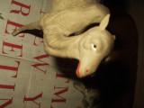 Vintage German Paper Mache Stick Leg Camel Christmas Nativity Putz Animal