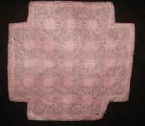 Victorian Pull Thread Drawnwork Tenerife Lace Small Doily