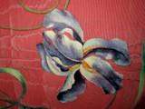 Early 20th Century Cherub Art Noveau Handpainted Hanging Wall Tapestry