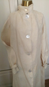 1900s Linen Duster Motorcar Vintage Travel Automobile Coat