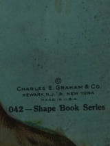 Our Pets Children Storybook Charles Graham 042 Dog Shaped Book 1900s