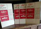 4 Dr Blumers Advertising Gelatine Jello Food Boxes 1920s Unused