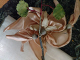 Ribbon Art 1920s Silk Flower Millinery Hat Dress Embellishment