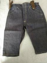 Salesman Sample Jeans Work Wear Denim Vintage 1930s Buckle Back