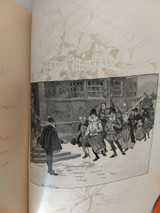 Christmas In The Olden Time Book Sir Walter Scott 1887 Hard Bound