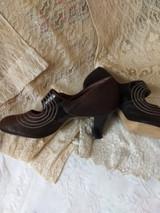 1930s Vintage Women Shoes Annette Fashion Footwear Old Stock Unworn