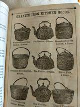 1870s  St. Louis Stamping Granite Iron Ware Cook Recipes Granite Buffalo New York