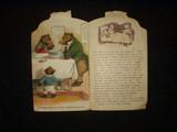 Antique Victorian 1900s Raphael Tuck Three Bears Children Storybook