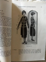 1926 Nu-Way Fashion Institute Book Chicago Clothing Making Sewing