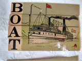 3 Victorian Educational Toy Slice Puzzles Lithograph Card Boat Yacht Car