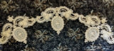 Victorian Edwardian Silk Applique Dress Trim Embellishment