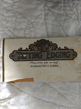 Vintage 1920 Novelty Tatting Lace Sewing Trim Graphic Package
