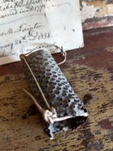 18th Century Tin Nutmeg Grater Hand Made Antique Provenance