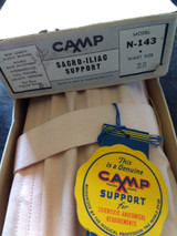 Vintage 1940 Camp Corset Under Garment 33 Waist Unworn Tag Box Label