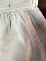 Early 1900s Boy Knickers Britches Pants White Cotton Button Waist