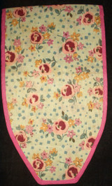 Sweet 1920s Floral Cotton Fabric Whimsy Ditty Sewing Or Hoisery Bag