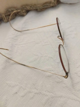 Vintage 1920 1930 Windsor Eye Glasses Spectacles Full View Celluloid