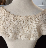 Victorian Edwardian Duchesse Tape Lace Dress Collar Dress Embellishment