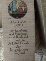 1930s Rust Craft Boston Canning Fruit Jar Labels Original Box