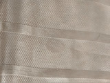 Antique Edwardian Pink Satin Ribbon Shawl Sash Long Fringe Hand Tied