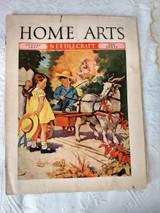 4 Vintage 1930s Home Art Needlecraft Magazines Fashion Needlework Ads