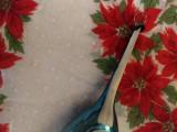 Christmas Tree Glass Ornament Vintage Mandolin Czech 1940 1950