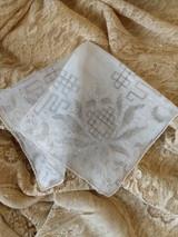 Vintage Madeira Handkerchief Embroidery Drawn Thread Wedding Hankie